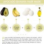 מסיכת שיער אבוקדו בננה